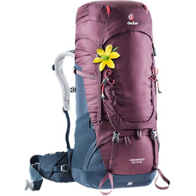 Deuter Aircontact 50 + 10 SL Zaino Donna, blackberry-navy